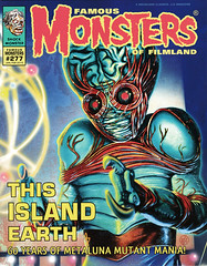 Famous Monsters #277 (2015), cover by Bill Selby (Tom Simpson) Tags: monster illustration magazine painting alien cover famousmonsters 2015 billselby thisislandearth 2010s