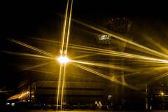 L'aroport 9 (Fabrice Le Coq) Tags: extrieur nuit lampes clairage aroport fondnoir fabricelecoq