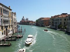Canal Grande, vista dal Ponte Dell'Accademia (ilpiubello) Tags: venice italy italia laguna venezia italie canalgrande vaporetti pontedellaccademia