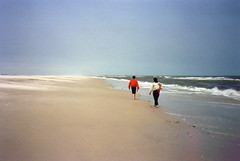 Camping Assateague 1988 04 (tineb13) Tags: park 1988 kelly natalie starr nock