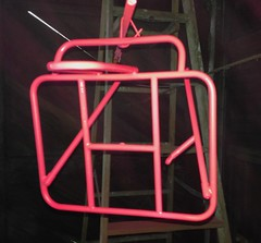 Pink! (Tysasi) Tags: photostream 10x75 demountable rando rack lukeheller pink paint painting orcrack orcracks customrack customracks