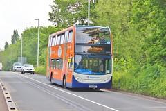 Stagecoach West 15977 YN14OWU - Dawlish Roundabout (South West Transport News) Tags: west roundabout stagecoach dawlish 15977 yn14owu