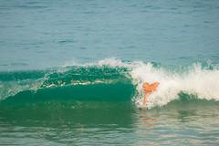 Jim loves to bodysurf.