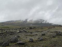 "Le Parc National Cotopaxi: le volcan Cotopaxi dan le brouillard <a style=""margin-left:10px; font-size:0.8em;"" href=""http://www.flickr.com/photos/127723101@N04/26834249404/"" target=""_blank"">@flickr</a>"