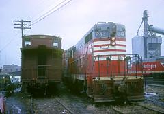 CB&Q GP7 242 (Chuck Zeiler) Tags: railroad burlington train locomotive 242 chz emd cbq gp7
