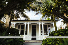 Historic house in Auckland, NZ (Naomi Rahim (thanks for 2 million hits)) Tags: city travel trees newzealand summer urban house home architecture nikon historic wanderlust palmtrees auckland nz northisland ferns 2015 travelphotography nikond7000
