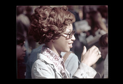 ss23-36 (ndpa / s. lundeen, archivist) Tags: people woman black color film boston glasses massachusetts nick profile slide africanamerican slideshow brunette mass 1970s eyeglasses youngwoman bostonians bostonian dewolf early1970s nickdewolf photographbynickdewolf slideshow23
