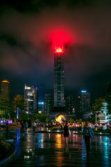 Guangzhou.night.2 (Jeremy Langley) Tags: guangzhou china city storm rain night citylights redlight rainynight
