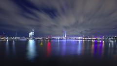 MELBOURNE BOLTE BRIDGE,  MAY 2016 (16th man) Tags: canon eos newquay australia melbourne docklands vic boltebridge yarrariver vistoria etihadstadium eos5dmkiii