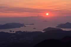 Amanecer, Ise (K.K.1048) Tags: sunrise ise  mie toba   asamayama  mtasama