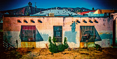 Backs of buildings that looks like a mans face. (richham14 - (Mr Cubs}) Tags: losangeles richardhammond creativephotography creativeartphotography richham14
