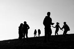 silhouette (glookoom) Tags: light blackandwhite bw black france nature monochrome silhouette montagne grenoble noir noiretblanc lumire ombre contraste blanc forme mouvement chamrousse rhnealpes