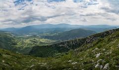 Minutes before the storm (Milos Golubovic) Tags: green grass nikon view cloudy top serbia ngc peak canyon gorge nis srbija ples svrljig d7100