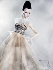 Frostbite (Paris In BKK) Tags: toy doll elise convention centerpiece cinematic fashiondoll fr starlet valentino integrity dollportrait fashionroyalty dollfashion masioncelestia