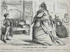 'Tis better not to know! - Punch 1873 (AndyBrii) Tags: woodcuts satire punch wit cartoons engravings 1873