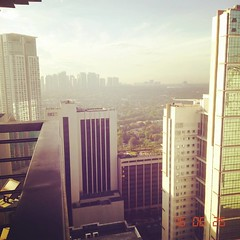 Ano rooftop pa? Hahaha. (mharckXVIII) Tags: square squareformat rise iphoneography instagramapp uploaded:by=instagram