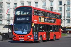 LK14 FBJ (VWH2014) Metroline London (hotspur_star) Tags: 7 londonbus londontransport tfl londonbuses transportforlondon doubledeck wrightbus hybridbus hybridtechnology metrolinelondon vwh2014 lk14fbj volvogemini3 londonbuses2016 busscene2016