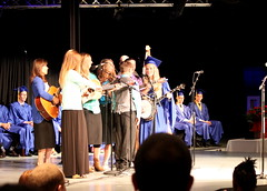 Singing  (The Kingery Family) Tags: family blue music black yellow happy parents spring singing baseball bluegrass bass guitar stage memories group smiles mandolin banjo together harmony fiddle kingery graduate vocals quartet