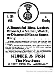 1911 hunke & fish jewelers (albany group archive) Tags: fish ny north albany pearl 1911 jewelers hunke