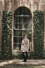pebblehill-33 (gracevmarrero) Tags: old summer france building brick window floral sunglasses vintage spring vines preppy quaint