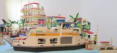 Harbor 1 (TimSpfd) Tags: playmobil harbor hotel diorama toys