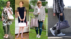 Fashion bloggers with totes and shoppers #iwillwearwhatilike (Not Dressed As Lamb) Tags: fashion bloggers bags fashionista tote shoppers totes