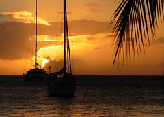 Golden Brown (Alan1954) Tags: sunset holiday france boats martinique caribbean 2015 platinumheartaward platinumpeaceaward
