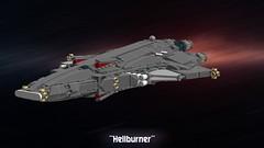Hellburner (Cagerrin) Tags: 3d lego space system spaceship rider ldd starfighter legodigitaldesigner ridership foitsop