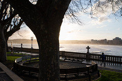 Iré Contigo (I Will go With You) (Dibus y Deabus) Tags: gijon gijón asturias españa spain playa beach playadesanlorenzo amanecer dawn canon 6d