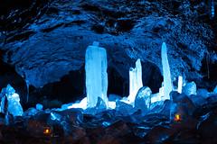 Shine of underground () Tags: japan fuji narusawa icecave cave ice illumination light naturalmonument