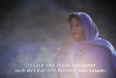 Saw his glory (Jouni Niirola) Tags: the gospel of john photo screen laptopdvd movie sg jag herren sitta p en hg och upphjd tron jesus jeesus yeshua hamashiach messias