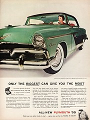 1955 Plymouth Belvedere Sport Coupe (aldenjewell) Tags: hardtop 1955 sport ad plymouth belvedere coupe