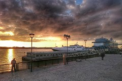 Liverpool (marcleach51) Tags: sunset seascape liverpool landscape boat isleofman steampacket
