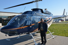 A final shot of me with the Bell Long Ranger II helicopter (oldandsolo) Tags: road lake toronto ontario canada airport chopper highway aircraft flight tourists helicopter suburbs charming lakeontario landed camwhoring niagaraonthelake customers heliport selfie freshwaterlake helicopterride heritagetown historicaltown scenicflight rotarywingaircraft bell206lhelicopter belllongrangerii loveliesttownincanada nationalhelicoptersincniagaraonthelake
