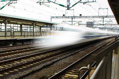 Shinkansen (BigSpenderShots) Tags: japan urban street photgraphy city travel train shinkansen bullet