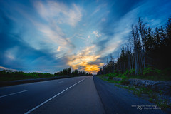 The Trans-Canada Highway (Thousand Word Images by Dustin Abbott) Tags: road ca sunset sky ontario canada beautiful pembroke photography highway ottawa explore bluehour fullframe manualfocus transcanada petawawa 2016 photodujour canoneos6d voigtlndercolorskopar20mmf35 thousandwordimages dustinabbott dustinabbottnet adobephotoshopcc egsfocusscreen adobelightroomcc alienskinexposurex