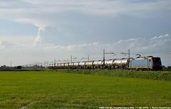 E483 107 (MattiaDeambrogio) Tags: train nc italia rail trains db cargo genova treno 107 bombardier marittima traxx treni schenker risaia risaie vtg trecate borgolavezzaro e483 nordcargo