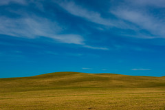 Tuscan Sky (jfusion61) Tags: sky italy field clouds spring nikon tuscany siena agriculture minimalist tuscan 70200mm d810