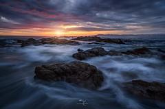 KRAKEN (Jhovany Rosales) Tags: travel sunset sea summer sky seascape beach colors mxico clouds landscape sand rocks waves puertovallarta 24105mm canon6d