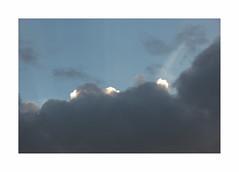 Les trois nocturnes (hlne chantemerle) Tags: white trois clouds grey gris evening three bluesky bleu ciel nuages soir debussy blancs
