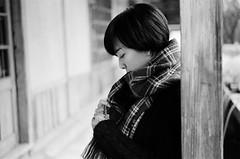 Leica_m_BW_6055_M75F14_Bagel (OPTIK AXIS) Tags: camera leica portrait blackandwhite film dof bokeh taiwan monochromatic outoffocus 135   rf leicacamera    blackandwhitefilm       analoguephotography   mp85    m garylevel summiluxm11475e60 bagelc