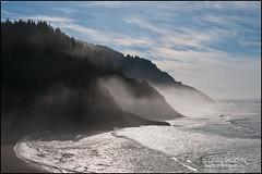 GV13110047 (Greg Vaughn) Tags: travel usa west fog oregon america landscape outdoors cove scenic pacificocean coastal american western headlands pacificnorthwest coastline northwestern centraloregoncoast hecetaheadlighthousestatepark gv13110047