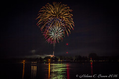 Chesapeake City Fireworks (EllieJanie Maybelline) Tags: md fireworks maryland easternshore independenceday chesapeakecity canon1022mm cdcanal 070216 canon7d