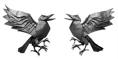 Yatagarasu - Satoshi Kamiya (Mariano Zavala B) Tags: de patas tres crow cuervo satoshi kamiya yatagarasu
