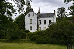 La maison du clan MacDougall en contrebas du château de Dunollie