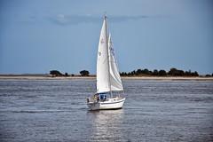 Come Sail Away (Solarity_1138) Tags: sail sailboat ocean water sky clouds nature nikon d3200