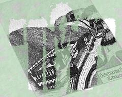 Kimono Carthusian Monastery Kartause Mauerbach - an Ort und Stelle (hedbavny) Tags: monastery kloster cloister charterhouse kartause mauerbach kimono kaftan gewand clothes kleidung narrenkleid schnittmuster sewingpattern paperpattern musterbogen augustinus antonius heilig heiliger engel angel vogelscheuche scarecrow architecture architektur green grn maigrn black white weis schwarz wald forest tree baum kirche church turm tower kirchturm zelle mnchszelle landschaft landscape beschriftung unterwegs rundgang runde niedersterreich loweraustria sonnenwende sommersonnenwende sommerbeginn sommer summer verlauf stencil schablone raster hedbavny ingridhedbavny wien vienna austria sterreich garten garden