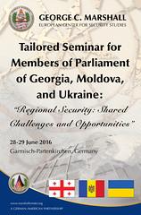 Moldova, Georgia, Ukraine Tailored Seminar for Parliamentarians (GCMCOnline) Tags: georgia ukraine moldova tailoredseminar