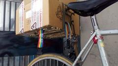 survival rack (Delta9OfficinaCritica) Tags: cicloturismo diy rando homemade rack dirtbike bagno survival fci viner backrack vesciche fixedforum randobags stradavecia portacibo funkyrack
