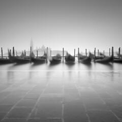 Acqua Alta (Rohan Reilly Photography) Tags: venice venezia workshops longexposure square gondolas piazzasanmarco san giorgio maggiore morning fog sony a7r